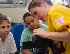 Oficina de Cinema para Crianças no Hospital Pequeno Príncipe